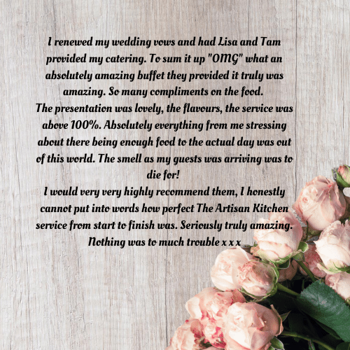 Wedding Catering Review Image