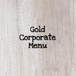 Gold Corporate Menu