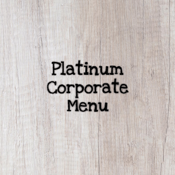 Platinum Corporate Menu