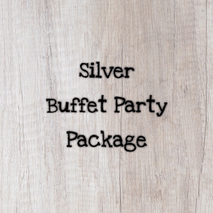 Silver Buffet Party Package